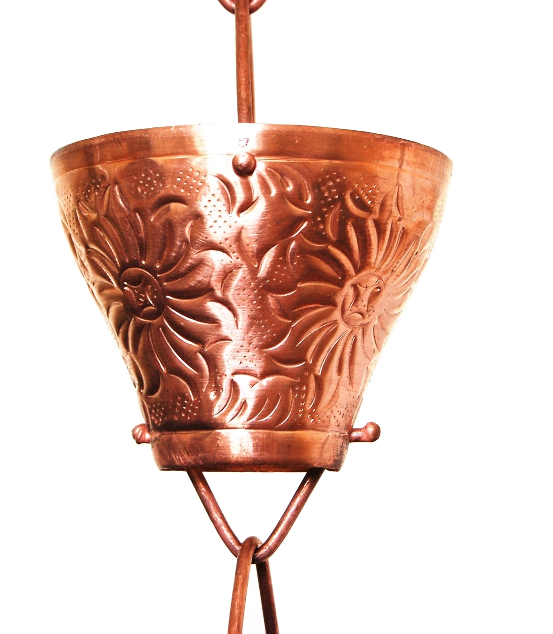 Picture of U-nitt #5501 Embossed Cup Rain Chain