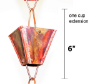 Picture of U-nitt Square XL Plain Cup Rain Chain 3121URL