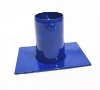 Picture of #975 Gutter Adapter / Installer for Rain Chain: Aluminum Blue
