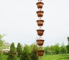 Picture of #3124C Tealight Cup Rain Chain: Pure Copper